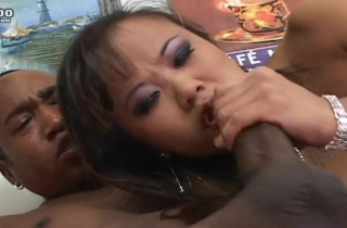 black guy devours mias tight korean pussy