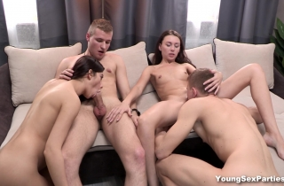 Young Sex Parties – Chicks get the sex party going